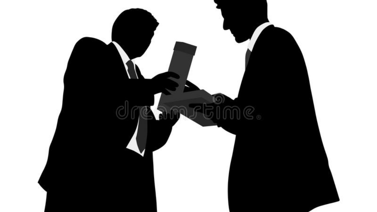 giving-award-successful-man-receiving-isolated-white-background-eps-file-available-89398499